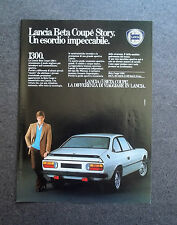 [GCG] H360 - Advertising Pubblicità -1982-  LANCIA BETA COUPE' 1300