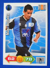 CARD CALCIATORI PANINI ADRENALYN 2011/12 - N. 10 - MORALEZ - ATALANTA - new