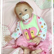 Nicery Acrylic & Silicone Reborn Doll Lifelike Reborn Baby Doll Girl Toy 22in.
