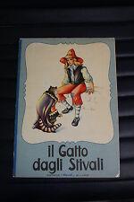 """Il gatto dagli Stivali - Editrice """"Piccoli"""" - per ragazzi - illustrato"""