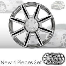 New 16 inch ABS Chrome Hubcaps Wheel Rim Covers Hubcaps Set 541 For VW