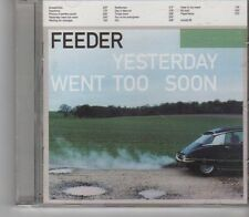 (FX852) Feeder, Yesterday Went Too Soon - 1999 CD