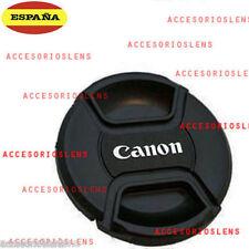 TAPA DELANTERA PARA OBJETIVO CANON 67 Front Lens Cap CANON  67 CON  CORDÓN
