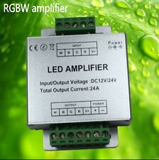 4 Channel RGBW Amplifier 4CH 12V-24V 24A for 5050 3528 RGBW RGB LED Strip Light