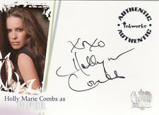 Charmed Destiny Holly Marie Combs as Piper A1 Auto Card