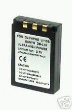 DB-L10A DBL10A Battery 1200mAh for Sanyo Xacti DSC-AZ3