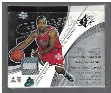 2002-03 UPPER DECK SPx Basketball Hobby Box Factory Sealed Manu Ginobli & Ming R