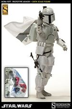 SIDESHOW 1/6 SCALE STAR WARS BOBA FETT PROTOTYPE ARMOR EXCLUSIVE - NEW