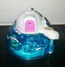 2000 Polly Pocket Blue Igloo House Playset Arctic Ice NO FIGURES