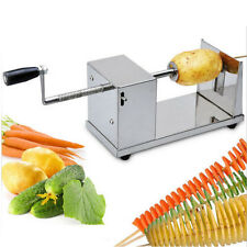 Manual Potato Twister Tornado Slicer Vegetable Automatic Cutter Machine Spiral