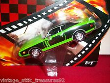 GONE in 60 SECONDS '71 DODGE CHARGER GREEN MACHINE Greenlight Die cast CAR DVD