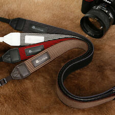 MATIN Stripe-38 (Brown) DSLR SLR RF Mirrorless Camera Neck Shoulder Strap Belt