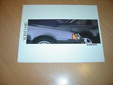 DEPLIANT Volvo 440 de 1989 Hollande