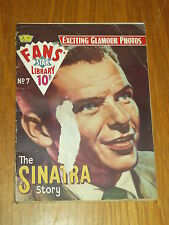 FANS STAR LIBRARY #7 THE SINATRA STORY BRITISH COMIC POCKET