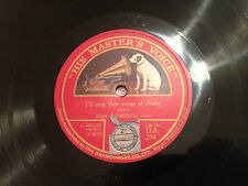 """JOHN McCORMACK """"Evening Song""""/""""I'll Sing Thee Songs Of Araby"""" 78rpm c1924  EXC+"""