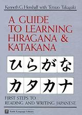 Guide to Learning Hiragana & Katakana Tuttle Language Library