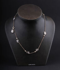 GEORG JENSEN Sterling Silver Moonlight Grapes Necklace # 551. Harald Nielsen.