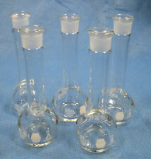 "KIMAX 20 ML  VOLUMETRIC  FLASKS  ""A""   X5  NEW????"