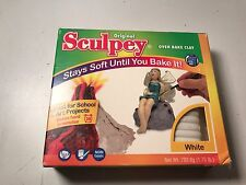 Sculpey Oven Bake Clay Crafting Sculpting Molding White Art Projects Polyform