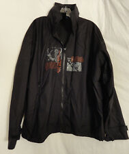 Cirque Du Soleil men wind breaker - rain jacket with hood size Small