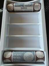 2005 Westward Journey Nickel American Bison 2Roll Set (4U8)