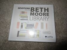 NEW CD *DEVOTIONS FROM THE BETH MOORE LIBRARY* Volume 2 NEW CD Set Lifeway