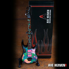 Axe Heaven Grammy Winner Steve Vai Signature Lotus Flower Mini Guitar & Stand
