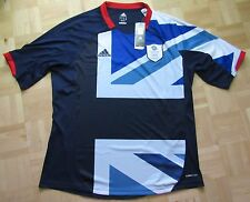 Football Team GB LONDON OLYMPIC GAMES Great Britain 2012 Home Shirt ADIDAS /XL
