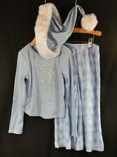 American Girl Let it Snow Pajamas 3 Piece SET Girls Small (7-8) NWT Retired $48