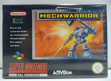 MECHWARRIOR - SNES SUPER NINTENDO PAL VERSION BOXED