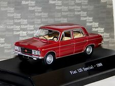 FIAT125 SPECIAL RED 1968 STARLINE 1/43