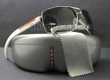 NEW Prada Sunglasses Men SPS 54I White 1BC-3M1 SPS54I