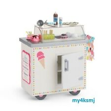 American Girl ICE CREAM CART icecream cart plus acces for Doll SAME DAY SHIP
