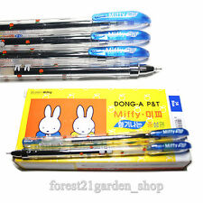 x6 Dong-A Miffy 0.5mm Gel ink Scented Rollerball pen - Blue- 6 Count