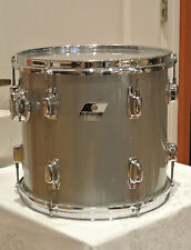 "EXPAND Your DRUM SET! 80s LUDWIG USA ROCKER II 12"" SILVER GRAY POWER + TOM #G424"