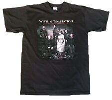 Official WITHIN TEMPTATION Tour 2007 The Heart of Everything WoW Band T-Shirt L