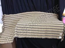 Pottery Barn Catalina Brown Multi Stripe Indoor Area Floor Mat Rug 3x5