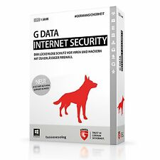G Data Internet Security 2016  1PCs 6 Monate  Deutsch Version