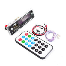 DC 12V Car Auto LED USB AUX Bluetooth MP3 Music Decode Board Amplifier Remote
