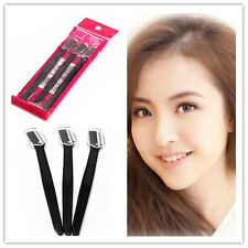 3X Women Lady Makeup Black Facial Face Tool Eyebrow Razor Trimmer Blade Shaver
