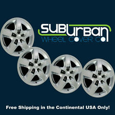 "'07 08 09 10 Saturn Aura # 435-17C Chrome Upgrade 17"" Hubcaps Wheel Covers SET 4"