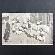 CPA Zouaves Entrainement Gymnastique Première Guerre Mondiale WW1 Militaria