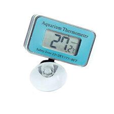 LCD Digital Anzeige Unterwasser Fisch Tank Aquarium Thermometer Saugnapf Neu