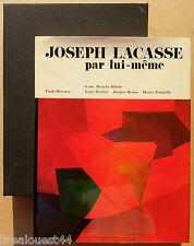 Joseph Lacasse par lui-même fonds Mercator Anvers 1974 + étui cartonné
