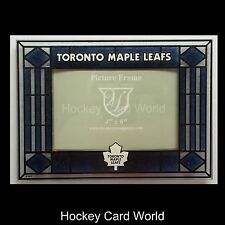 (HCW) Toronto Maple Leafs Horizontal 4x6 NHL Art-Glass Picture Frame -New in Box