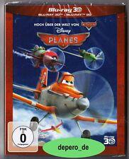"""""""PLANES"""" - Walt Disney - 3D + 2D BLU RAY - 2-Disc-Set im Pappschuber - neu/OVP"""
