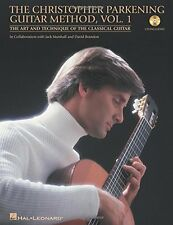 """""""THE CHRISTOPHER PARKENING GUITAR METHOD"""" VOL. 1 MUSIC BOOK/CD-BRAND NEW ON SALE"""