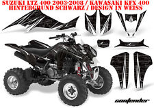 Amr racing decoración Graphic kit ATV suzuki ltz & Kawasaki KFX contender B