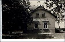 Possendorf Sachsen DDR Postkarte 1959 Partie am Gasthaus Lerchenberg gelaufen