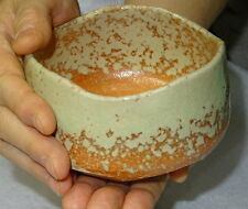 Japanese Tea Ceremony Matcha Chawan Tea Bowl Sado Moegi Mino Ware